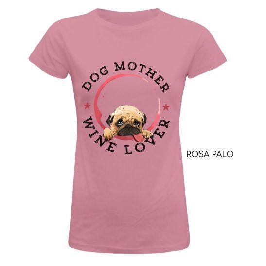 camiseta-mujer-madre-perro-amante-vino-moda-rosa