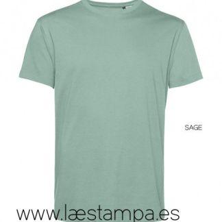 Camiseta hombre unisex organica bio de algodón B&C E150