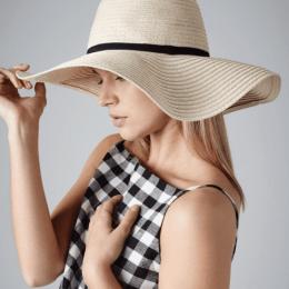 B740 Sombrero de ala ancha Marbella