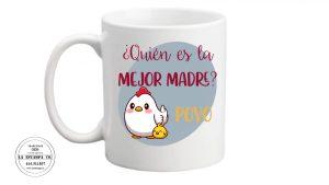 quien es la mejor madre, poyo taza para el dia de la madre humor