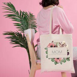bolsa de tela mom dia de la madre regalos originales