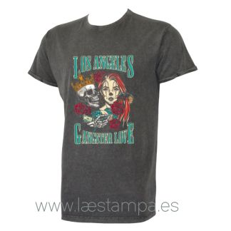 camiseta unisex los angeles gangster