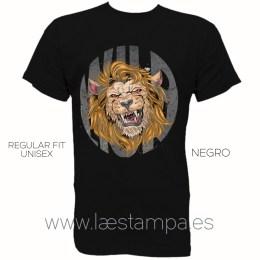 camiseta wild lion para hombre mujer unisex estampada original