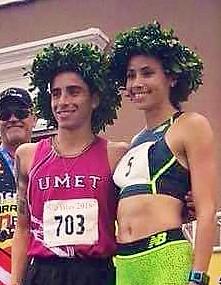 Beverly Ramos y Diego Moreno campeones del San Blas.