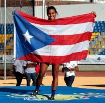 Oro para Alysbeth Félix en los Juegos Deportivos Universitarios en Honduras. (Fernando Neris Enviado Especial)