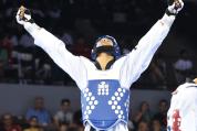 Glorioso Luis Colón con la victoria sobre Brasil para la medalla de bronce. (Quique Aparicio COPUR) (1)