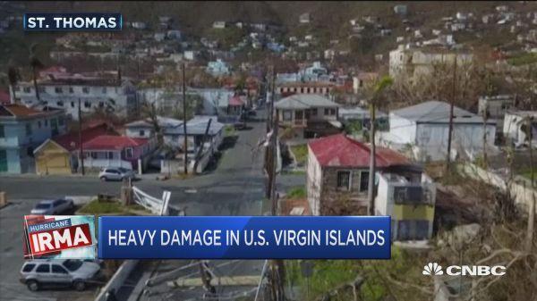 Graves daños en Saint Tomas. (Caturada de Internet)