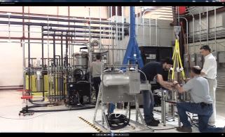 EDI gyrotron assembly