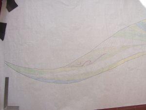dessin source de vie laetitia gauthier mosaique monument art funéraire