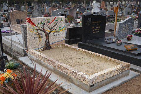 La mosaïque comme art funéraire