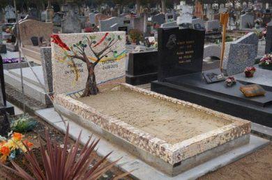 monument funéraire mosaique laetitia gauthier art funéraire