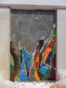 de la terre jaillit la lumière art sacré 2 mosaique