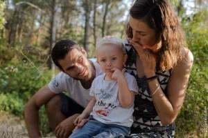 petit garçon dans la forêt de Saint Rémy