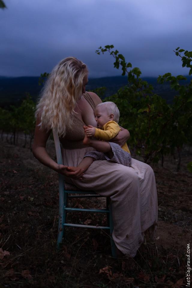 allaitement maternelle mère fils