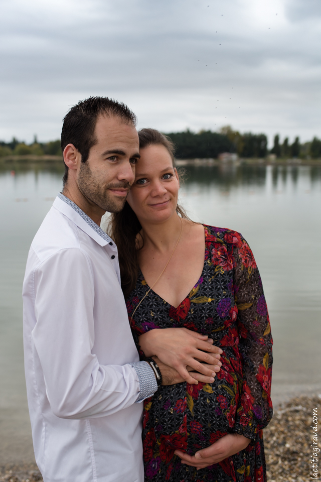 photo de couple femme enceinte