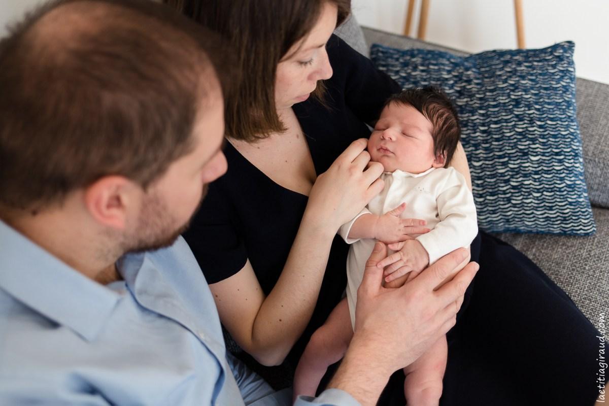 Photos de naissance à domicile Photographe à Avignon