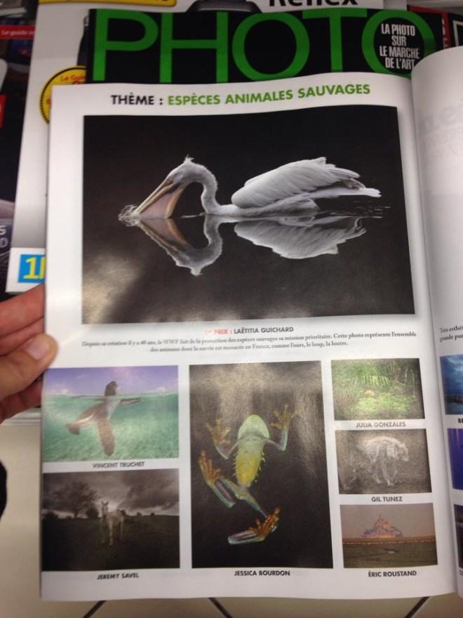 1 er prix WWF du magazine PHOTO 2014