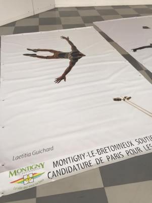 campagne d'affichage 3 affiches 2x3 mètres région parisienne