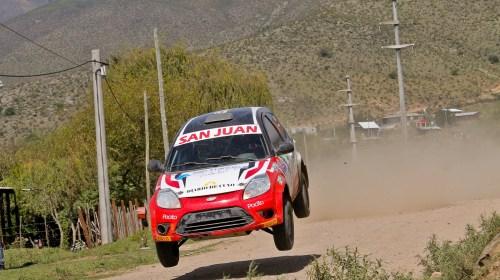 Record sanjuanino en el Rally de Argentina