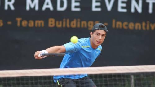 Aubone consiguió su segundo punto ATP en Bélgica