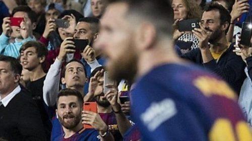 ¿Dos Messi en una foto?