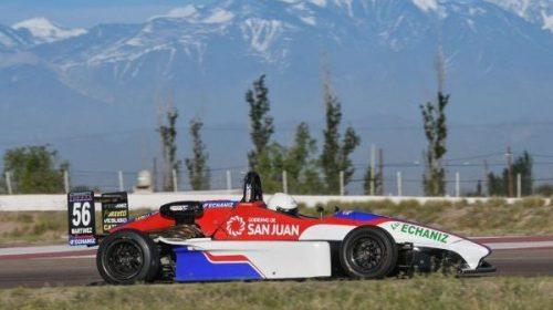Tobías se destacó en su debut en la Fórmula Renault Plus