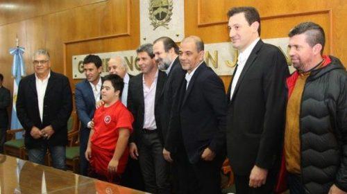 Básquet: Sergio Hernández presentó a la Selección en San Juan