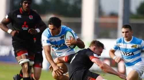 Rugby: Los Pumitas no pudieron ante Inglaterra