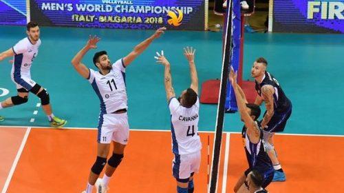 Mundial Voley: Argentina, cerca de sumar  ante Italia