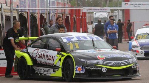 Persia finalizó séptimo en su regreso al Top Race Series