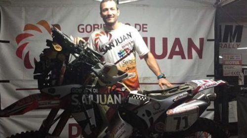 Puchi Ontiveros viaja a Perú a competir en su sexto Dakar