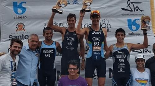 Triatlón: Podio para Medard y Tellechea en Brasil