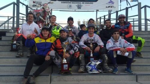 Cuatro podios locales en el paso del Enduro por la Provincia
