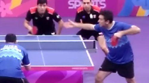 LIma2019: Con Tabachnik, ganó el equipo de tenis de mesa