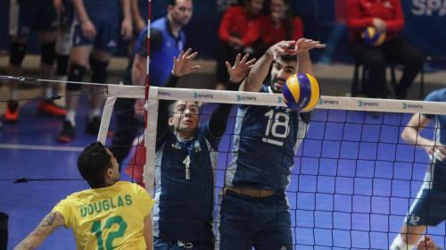 Argentina arañó dar el golpe en la final del Sudamericano de Voley
