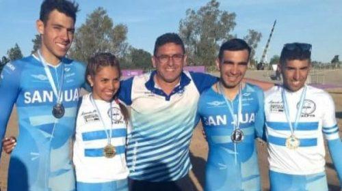 Argentino de Pista: Oro en Mendoza para Aguirre y Cattapan.