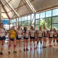 La selección sanjuanina de vóley femenino, en ritmo para los Binacionales