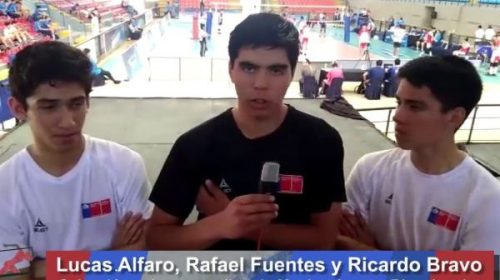 ALMATEUR: Lucas, Rafael y Ricardo, protagonistas de un hecho histórico