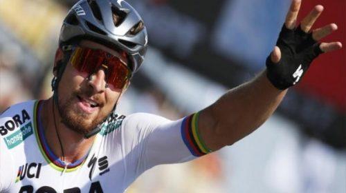 El campeón mundial de ciclcismo de ruta Peter Sagan es nuevamente El Mimado de San Juan