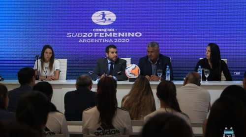 San Juan recibe al Sudamericano Sub 20 femenino