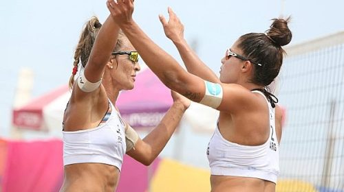 Voley playa: Otra final en Lima para Pereyra y Gallay