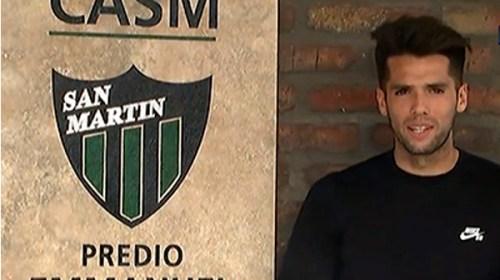"""Emmanuel Mas y su amor por San Martín: """"Escuchaba pasar cantando la hinchada y eso me gustaba"""""""