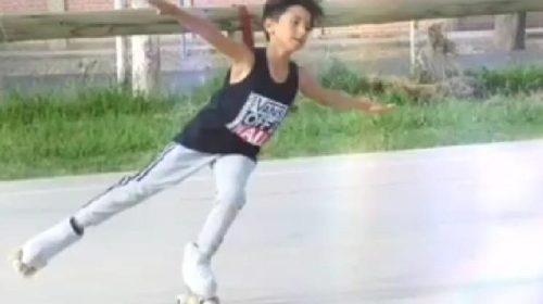 Octavio Morte, la emoción del llamado al preseleccionado de patinaje artístico