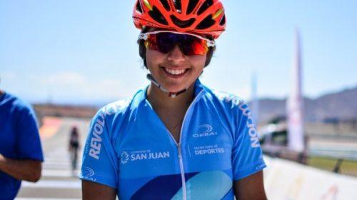 Abril Capdevila mantiene su sueño olímpico en ciclismo