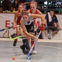 Pilar Narváez entrena para participar en otro Panamericano de hockey pista