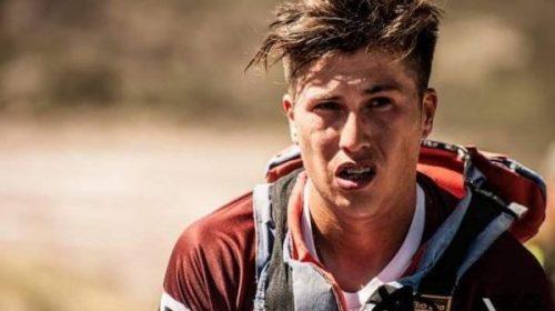 Lucas Masman, la anécdota de la vez que se despertó a los tumbos en plena carrera