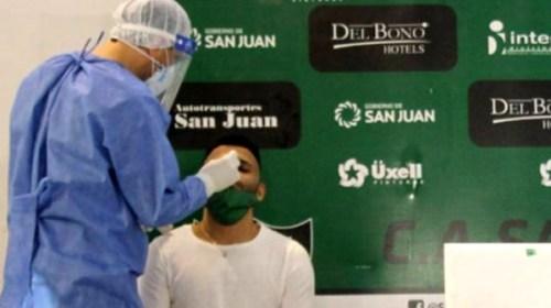 """Con """"burbuja sanitaria"""" limpia San Martín comienza entrenamientos"""