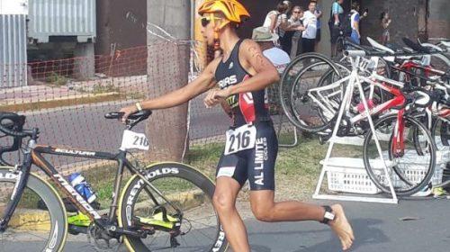 Triatlón: Luciano Frías, el sueño de estar en los ODESUR juveniles