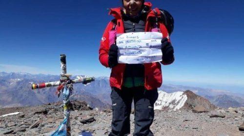 Sonia Procopio prepara un nuevo desafío: recorrer sin parar los 7 picos de Ansilta