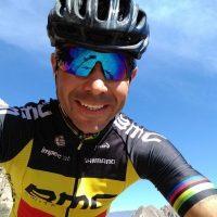 MTB: El recuerdo del triunfo de Sancassani con la bicicleta sin manubrio